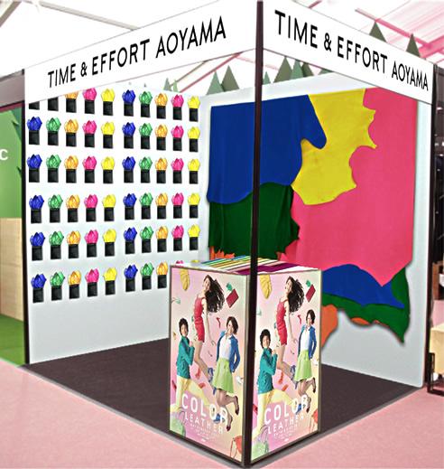 TIME&EFFORTが東京デザイナーズウィークに期間限定出展