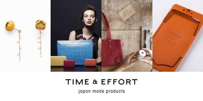 TIME & EFFORT × LUMINE EST SHINJUKU POP-UP 開催日:3/23〜3/29