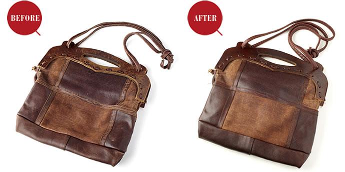 革製品のお手入れコラム『悩み別セルフメインテナンス術 - 2. 使い古されて色が剥げてきた!』を公開しました。