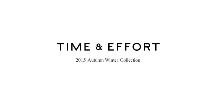 2015 AUTUMN WINTER COLLECTION/3rd ANNIVERSARY 開催日:8/28
