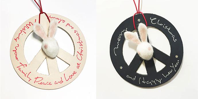 革と羊毛フェルトで作るクリスマスオーナメント<br /> TIME &amp; EFFORT WORKSHOP<br /> 開催日:12/21(月)・12/22(火)