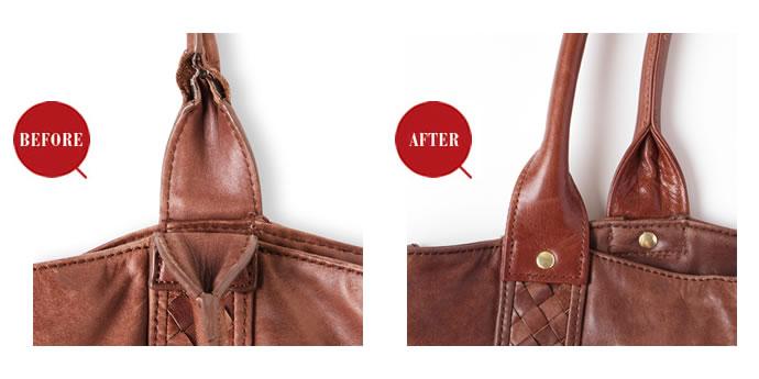 革製品のお手入れ - 『プロに任せて安心キレイ!愛用品のリペア&カスタム - CASE_1 壊れた鞄のハンドルをリニューアルしたい!』を公開しました。