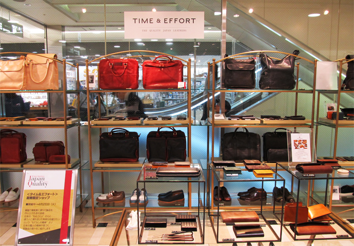 「JR NAGOYA TAKASHIMAYA 7F × TIME  & EFFORT POP-UP STORE」出展レポート