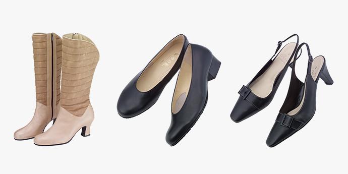 革の基礎知識コラム - 『デザインだけではない、婦人靴の選び方 - タイプで選ぶ』を公開しました。