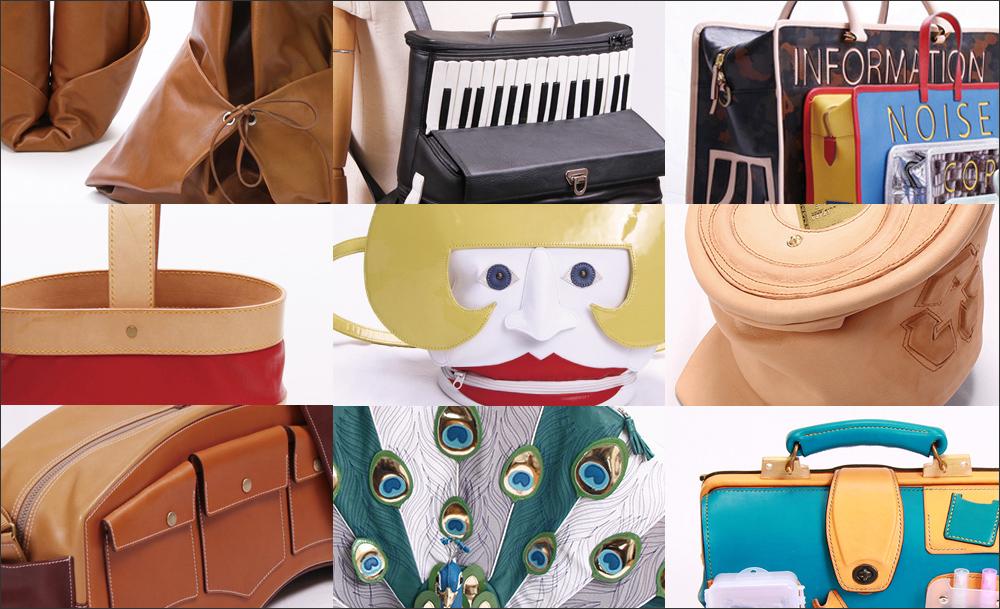 革鞄・ハンドバッグ特集 -「デザインコンテスト&コンペティションの受賞作で振り返る バッグ・クロニクル <革コン/革のデザインコンテスト in 東京レザーフェア>」を公開しました。